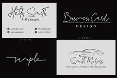 Hikatta Signature // Fashionable Handwritten Font - WEB FONT Product Image 2