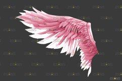 Pink Angel Wing overlay & Photoshop overlay Product Image 2