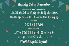 Andoly Cokie - Bouncy Script Font Product Image 6