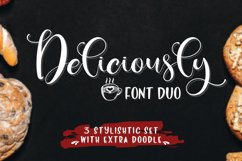 Deliciously Font Duo Extras Product Image 1