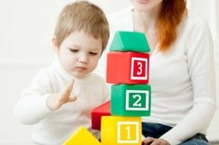 Funny blocks font for building blocks party Product Image 6