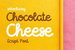 Chocolate Cheese Product Image 1