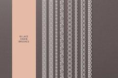 Lace Theme Procreate Brush Bundle Product Image 5