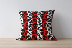 Skull pattern.Halloween Digital Paper,Skull wallpaper,PNG Product Image 6