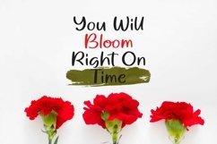 Web Font Blossom Dreams - Casual Handrawn Font Product Image 3