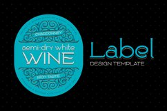 Goodwine Font, Label, Mockup Product Image 3