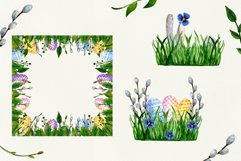 Watercolor set for Easter Product Image 7
