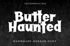 Butter Haunted Product Image 1
