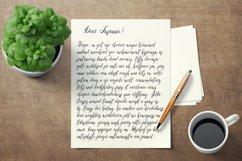 Yablochko Vishenka brush script font Product Image 5