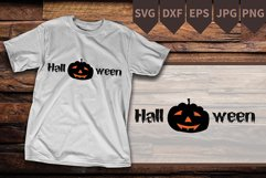 Halloween Pumpkin SVG , carved pumpkin, Halloween Shirt Product Image 1