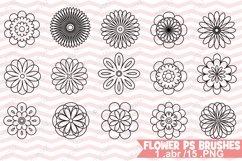 Photoshop Flower Brushes Product Image 1