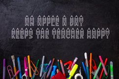Graders - A School Font Perfect For Teachers & Students! Product Image 4