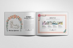 Wedding Planner Square Bifold Brochure Product Image 1