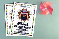 Kids Birthday Invitation  Product Image 2