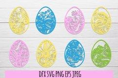 Easter eggs SVG . Easter SVG bundle Product Image 1
