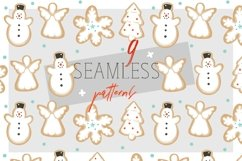 Christmas cookies vector collection Product Image 4