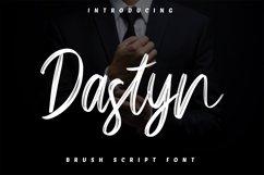 Dastyn - Brush Script Font Product Image 1