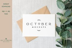 Bundle Mockup Card and Envelope in PSD and JPG | Card mockup Product Image 6