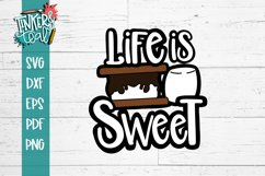 Life is Sweet Smores SVG Product Image 2