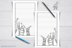 Christmas trees to color - KDP notebook. Product Image 2