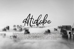Hatedo | Handwritten Script Font Product Image 3