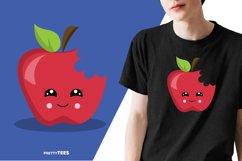 Apple Cool T-Shirt Design | Sublimation T-Shirt Product Image 6