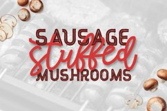 Red Peppers Font Duo Product Image 2