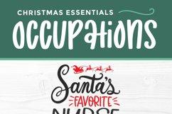 Christmas Nurse Practitioner svg -Santa's favorite np svg Product Image 4