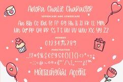 Adora Chalie - Playful Bouncy Font Product Image 6
