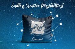 Gemini Zodiac, Constellation, Horoscope, Celestial Pack Product Image 3