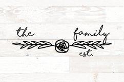 Vol 1 - Family Monogram Name Signs Bundle svg Product Image 5