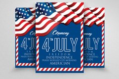 American Independence Day Flyer  Product Image 1