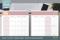Canva Calendar Template for Printable Products Product Image 2