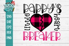 Daddys Little HeartBreaker SVG Product Image 1