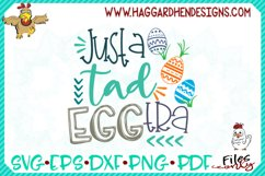 Just a Tad Eggtra SVG Product Image 1