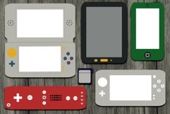 Gaming and Mobile Devices Digital Templates Product Image 2