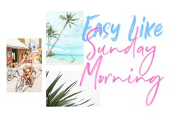 Soak Up The Sun Font Duo & SVG Product Image 3