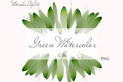 Watercolor Greenery Clipart Wreath Branches For wedding Product Image 1