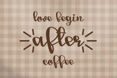 Good morning - A script handwritten font Product Image 2