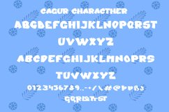 Cagur - Display Font Product Image 7