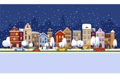 Winter town. Product Image 1