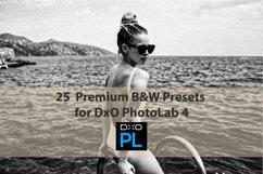25 Premium B&W Presets for DxO PhotoLab 4 Product Image 1