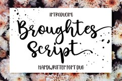 Broughtes script Product Image 1