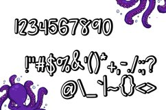 Awkward Octo a font Duo Product Image 4