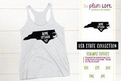 North Carolina Home Grown - SVG design Product Image 1