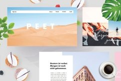 PEET - Powerpoint Template Product Image 1