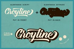 Groyline Retro font Product Image 2