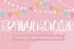 Babylicious 5 Designs With Baby Themed Doodles Product Image 2