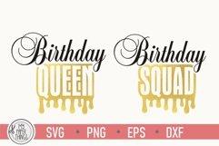 Birthday queen svg   Birthday Squad svg   Women's birthday Product Image 3