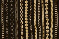 Chains & pendants Procreate brushes Product Image 2